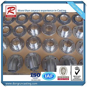 Aluminum Casting Service for Flanges with CNC Machining