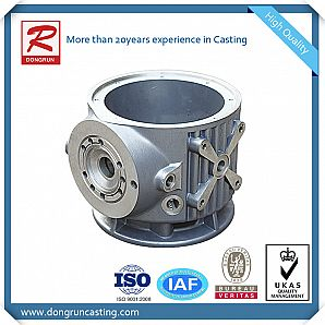High quality Cast Aluminum Pump Housings with CNC machining