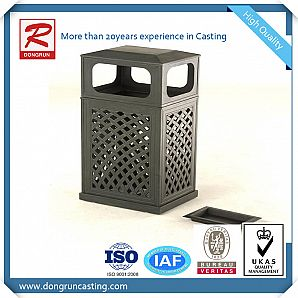 Cast Aluminum Mailbox or Bins Parts with Powder Coating